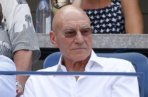 Captain Picard sieht Tennis-Sensation