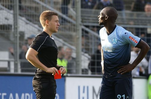 Kickers mit Sorgen nach Frankfurt
