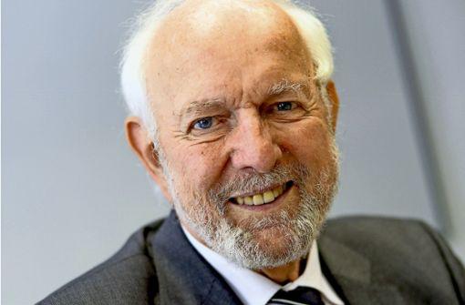 Der deutsche Wissenschaftler Ernst Ulrich von Weizsäcker ist sei 2012 einer der zwei Präsidenten des Club of Rome. Foto: dpa-Zentralbild