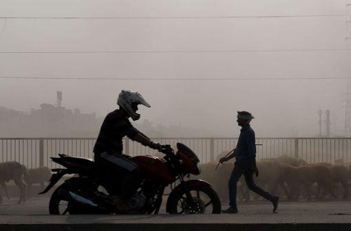 Dicke Luft in Neu Delhi