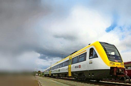 Im Netz Gäu-Murr verkehren ab 2017 Züge in einheitlichem Landesdesign Foto: MVI