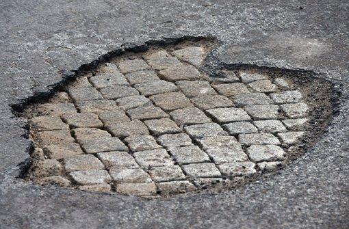Zu wenig Geld für den Straßenerhalt