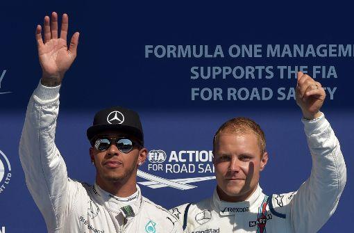 Hamilton und Bottas: Ein (fast) perfektes Paar