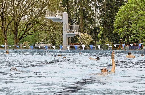 Die Frühjahrs-Schwimmer müssen warten und hoffen