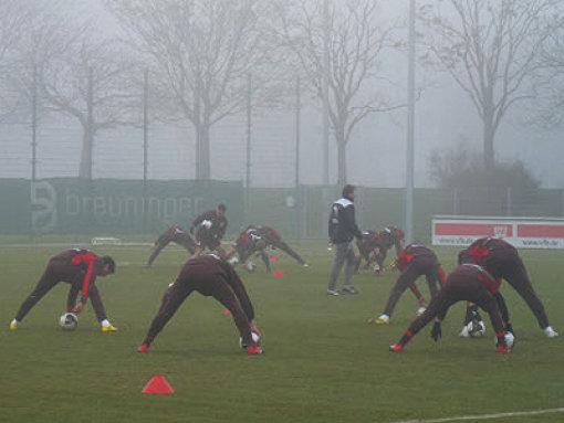 Die Roten im Nebel