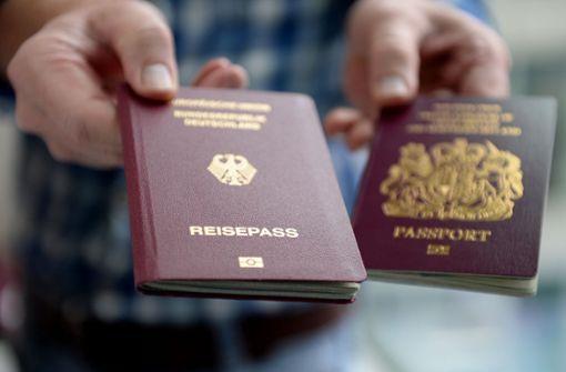 Zahl der Einbürgerungen von Briten hat sich verdoppelt