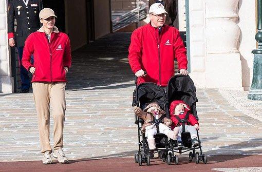 Doppeltes Baby-Glück: bGabriella und Jacques/b heißen die Zwillinge von Fürst Albert von Monaco und seiner Frau Charlène. Foto: Getty Images