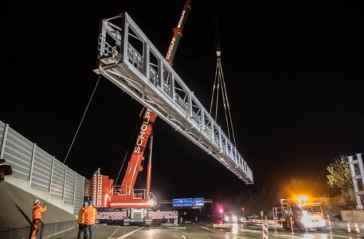 In der Nacht vom 10. auf den 11. November fanden Bauarbeiten am Engelbergtunnel statt. Foto: 7aktuell.de/Nils Reeh
