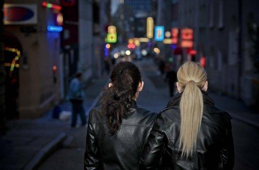 Die Stadt will im Rotlichtviertel gegen die Hintermänner der illegalen Prostitution vorgehen Foto: Peter Petsch
