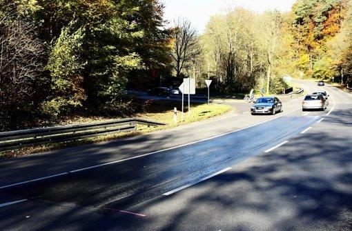 Landesstraße erneut repariert