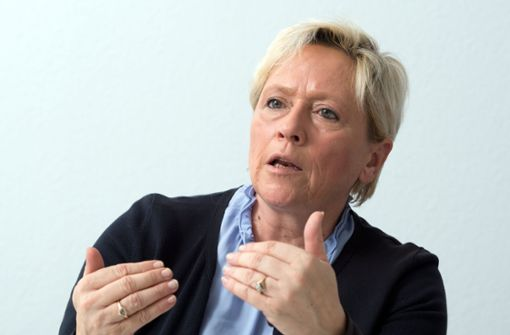 Kultusministerin Susanne Eisenmann Foto: dpa