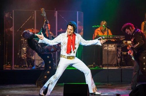 Doppelter Elvis in einmaligem Stück
