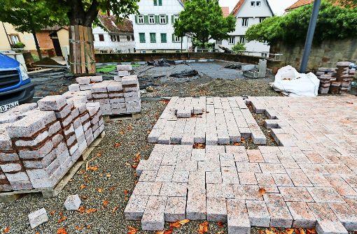 Sanierung des Kelterplatzes vorläufig gestoppt