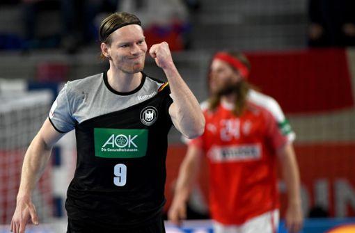 Reichmann war beim sensationellen Titelgewinn bei der EM 2016 bester deutscher Torschütze und landete mit 46 Treffern aus acht Spielen auf Rang zwei für das Turnier. Foto: dpa-Zentralbild