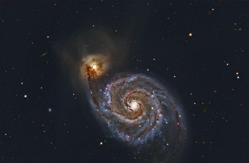 Die dunkle Energie, die das Universum auseinandertreibt