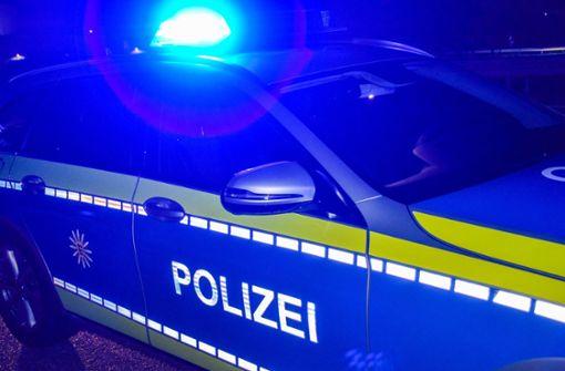 Motorrad mit Blutspuren gefunden - Polizei sucht Fahrer