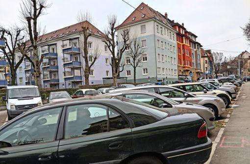 Auch unter der Wendeplatte an der Wagenburgstraße ist für die HGVs eine Tiefgarage  mit öffentlichen Parkplätzen denkbar. Foto: Jürgen Brand