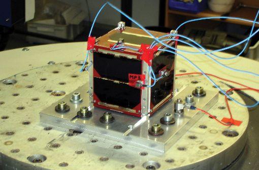 Rakete bringt Studenten-Satelliten aus Stuttgart ins All