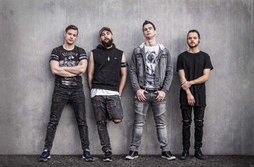 In Dreams of Reality spielen Metalcore, gemischt mit Elektro-Sounds und Rap.  Foto: Veranstalter