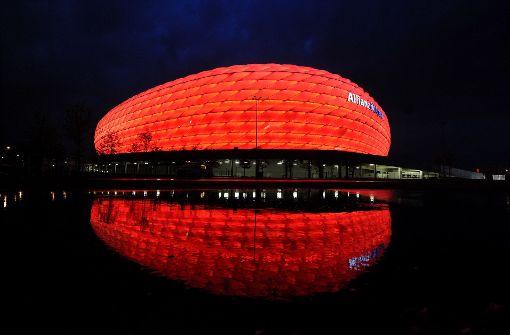 Platz 1: Die Allianz-Arena in München mit 99,0% Foto: dpa