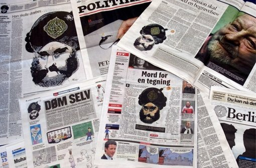 Muhammad-Karikaturen lösten 2005 eine Welle der Empörung in der islamischen Welt aus. Foto: Scanpix_Denmark
