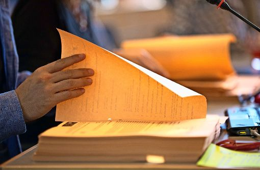 Eine Menge Papier: Mehr als 550 Anträge haben die Stadträte für die Haushaltsberatungen eingebracht. Foto: Lichtgut/Leif Piechowski
