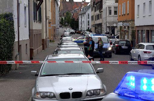 In unmittelbarer Nähe des Polizeipostens Degerloch schoss am Mittwoch ein Beamter. Foto: 7aktuell/Hald