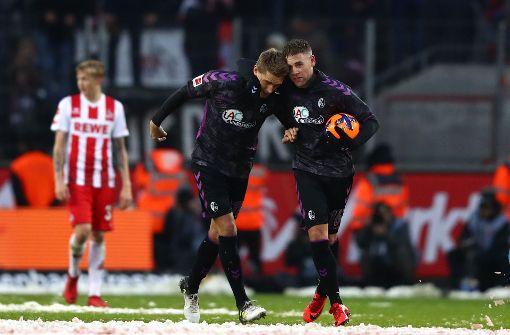 1. FC Köln verspielt 3:0-Führung gegen SC Freiburg