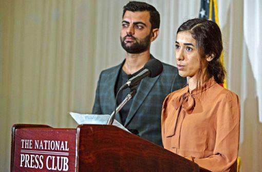Nadia Murad fordert mehr Anstregungen für Jesiden
