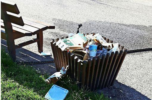 Die Sonne lässt Müllberge wachsen