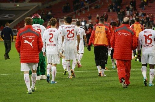 VfB spielt wie ein Absteiger