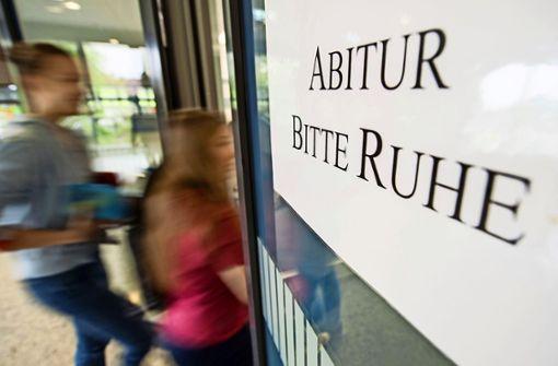An diesem Mittwoch beginnen die Abiturprüfungen an Stuttgarter Schulen Foto: dpa