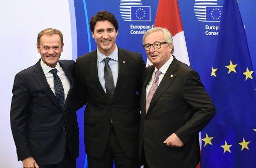 Ceta von EU und Kanada unterzeichnet