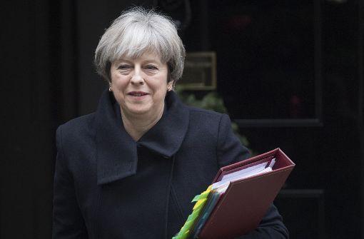 Terroranschlag gegen Premierministerin May vereitelt