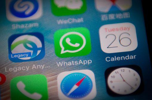 WhatsApp gehört zu den beliebtesten Messenger-Diensten in Deutschland. Foto: AFP