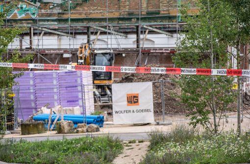 Bombe bei Bauarbeiten entdeckt