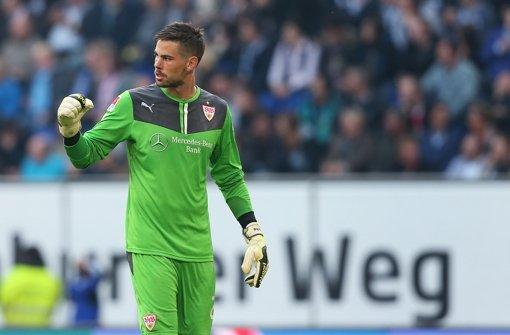 Gute Leistung von VfB-Ersatztorhüter Thorsten Kirschbaum: Note 2 Foto: Bongarts