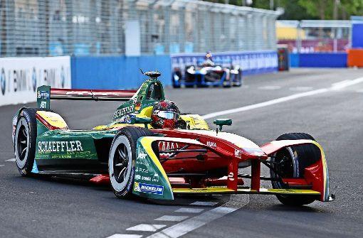 Schwede Rosenqvist gewinnt Formel-E-Rennen in Berlin