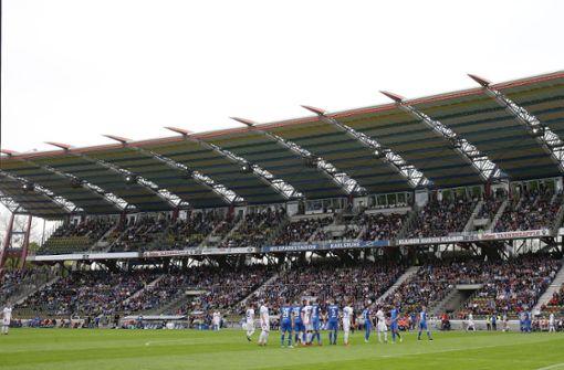 Das Wildparkstadion geht in die Bauphase