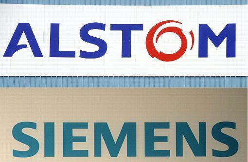 Siemens legt Zuggeschäft mit Alstom zusammen
