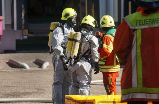 Ausgelaufenes Insektizid sorgt für Feuerwehreinsatz