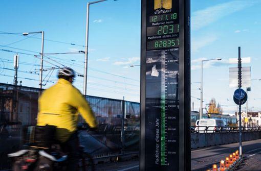Stadt Stuttgart kommt mit Ausbau des Radnetzes nicht hinterher