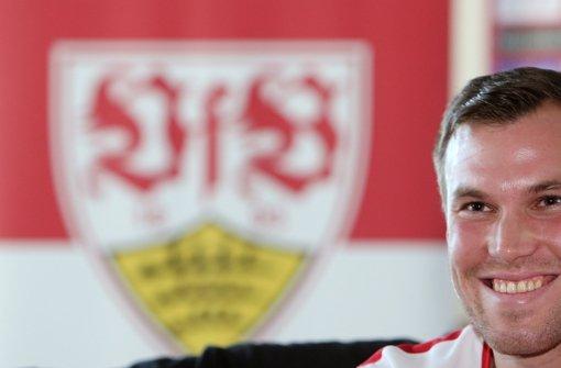 Kevin Großkreutz freut sich auf seine neue Aufgabe beim VfB Foto: Baumann