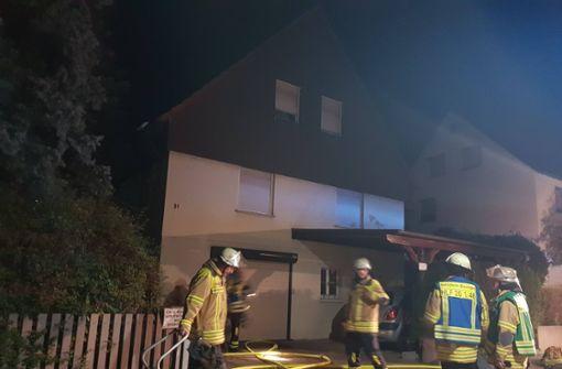 Senioren bei Wohnhausbrand verletzt