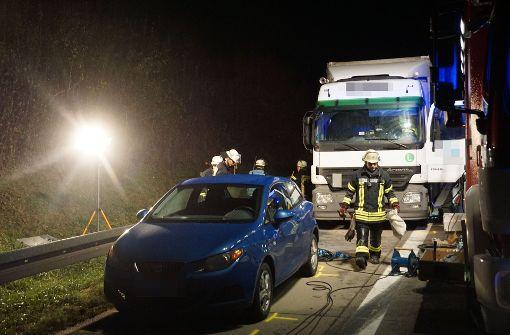 Sperrung der A8 aufgehoben – Rätsel um Toten