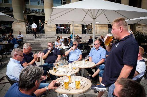 Liveblog: Norwegische Fans feiern in der City