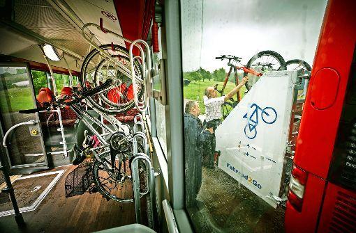 Ein Fahrrad als Ticket