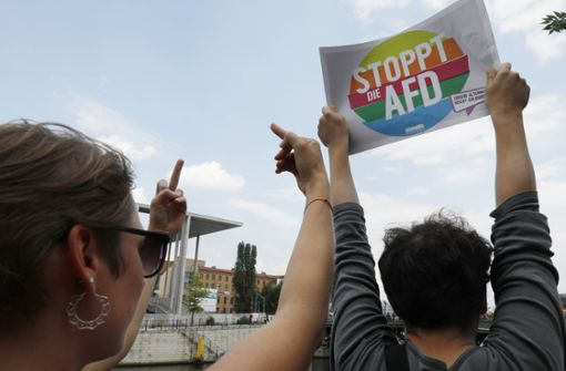 Tausende gehen gegen AfD-Demo auf die Straße