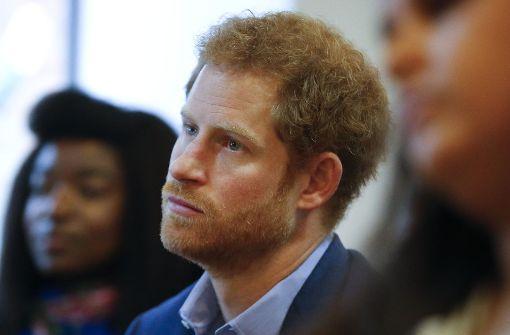 Prinz Harry hat mit einer Tradition des Königshauses gebrochen. Foto: AP Pool