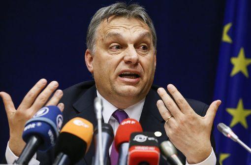 Mauer-Hilfe: EU  weist Forderung Ungarns zurück
